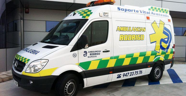 Ambulancia soporte vital avanzado