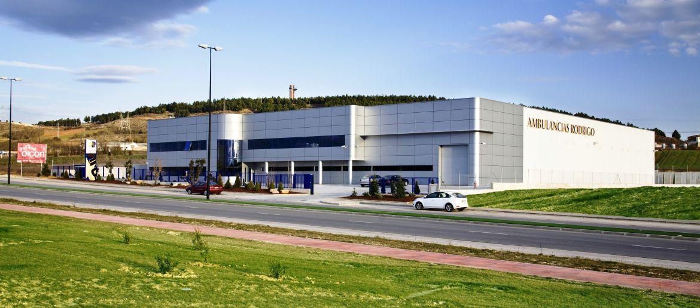 Servicio puesto grande cerca de Burgos